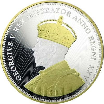 Канада  Георг V плакировка золотом (аверс).jpg