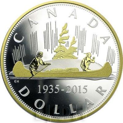 Канада  Георг V плакировка золотом вояджер (реверс).jpg