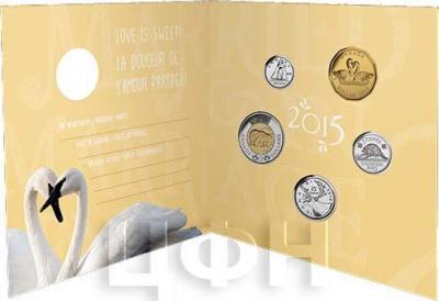 Канада 1 доллар 2015 «Навсегда вместе» (набор).jpg