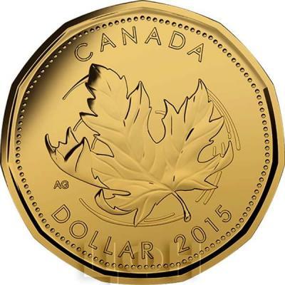 Канада 1 доллар 2015 «Канада» (реверс).jpg