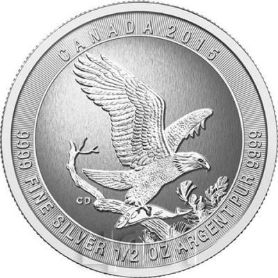 Канада 2 доллара 2015 «Орёл» (реверс).jpg
