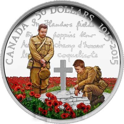 Канада 50 долларов 2015 «Фландрия» (реверс).jpg