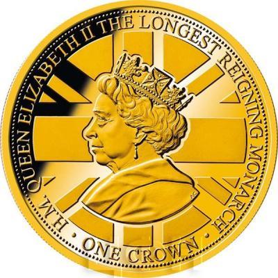 Гибралтар 1 крона 2015 год «Самый долго царствующий монарх»  (реверс).jpg