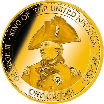 Гибралтар 1 крона 2015 год «Георг III»  (реверс).jpg