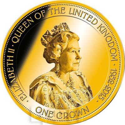 Гибралтар 1 крона 2015 год «Елизавета II»  (реверс).jpg