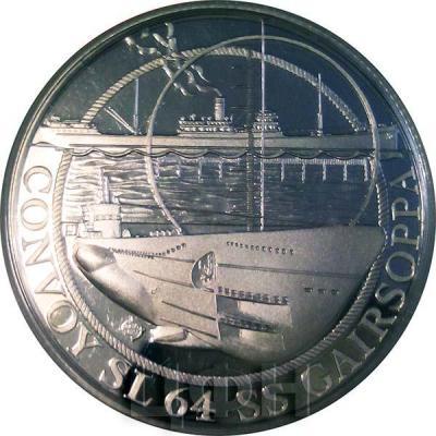 Гибралтар 1 фунт 2015 год «SS Gairsoppa»  (реверс).jpg
