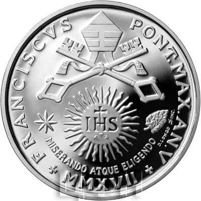 Ватикан 10 евро 2017 год (реверс).jpg