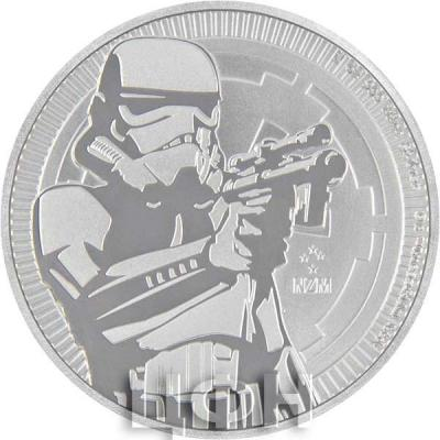 Ниуэ 2 доллара 2018 «Звёздные войны» (реверс).jpg