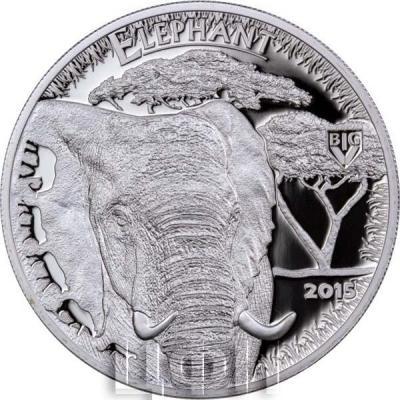 Танзания 1000 шиллингов 2016 «Слон» (реверс).jpg