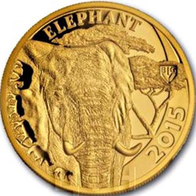 Танзания 5000 шиллингов 2016 «Слон» (реверс).jpg