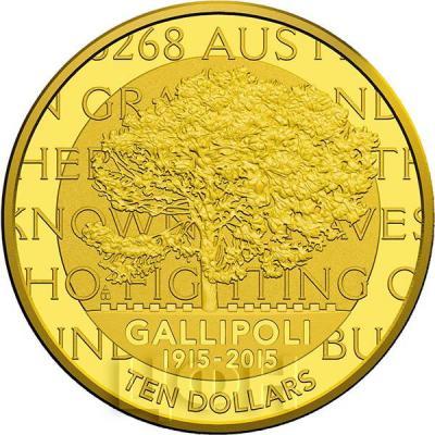 Австралия 10 долларов 2015 год GALLIPOLI (реверс).jpg