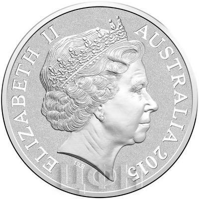 Австралия 1 доллар 2015 год (аверс).jpg