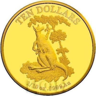 Австралия 2015 $10 Кенгуру (реверс).jpg