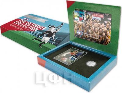 Австралия 1 доллар 2015 год Australian Football League (коробка).jpg