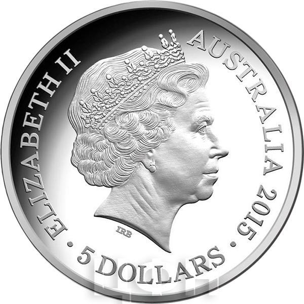 Австралия 5 долларов 2015 год (аверс).jpg