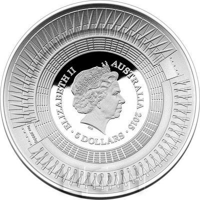 Австралия 5 долларов 2015 год Кубок мира по крекиту (аверс).jpg