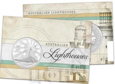 Австралия 5 долларов 2015 год Маяк (упаковка).jpg