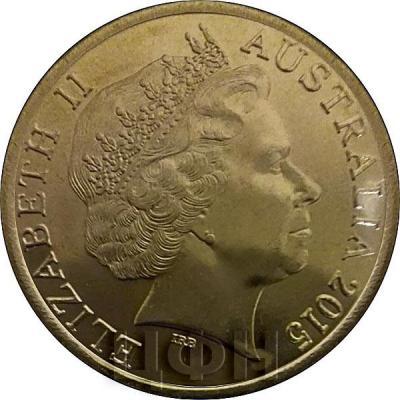 Австралия 1 доллара 2015 (аверс).jpg