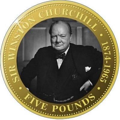 Тристан-да-Кунья 5 крон 2015 год Черчиль.jpg