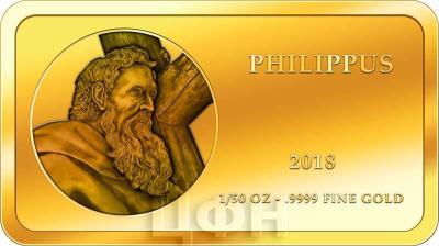 Конго 100 франков КФА 2018 год «Апостолы» (ФИЛИПП).jpg