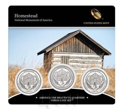 США квотер 2015 года «26. Усадьба Национальный памятник Америки Гомстед в штате Небраска» карточка (реверс).jpg