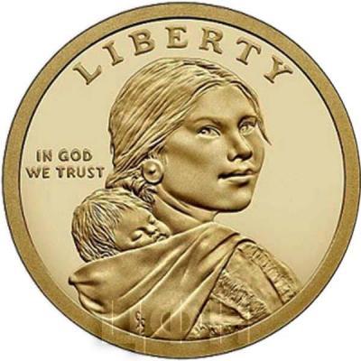 США 1 доллар Сакагавея (аверс).jpg