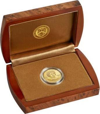 США 10 долларов 2015 года «Бесс Трумэн» (коробка).jpg