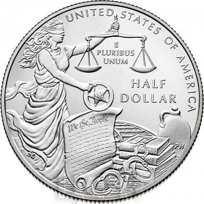 США 50 центов 2015 года «Служба маршалов США» (реверс).jpg