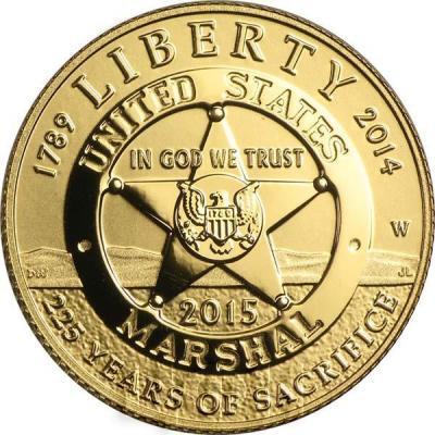 США 5 долларов 2015 года Шерифы (аверс).jpg