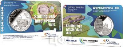 Нидерланды 5 евро 2017 UNC (карточка).jpg