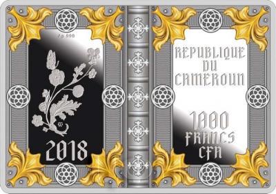 Камерун 1000 франков 2018 «Молитвенник Ротшильдов» (аверс).jpg