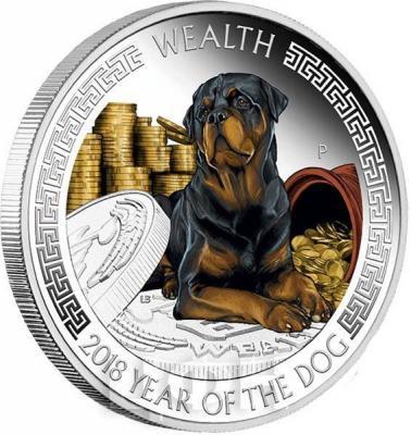 Тувалу 1 доллар 2018 «Год собаки» (реверс).jpg