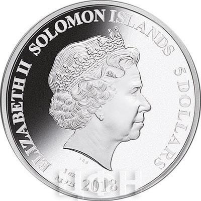 Соломоновы острова 5 долларов 2018 год Ag 925 (аверс).jpg