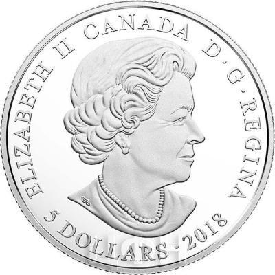 Канада 5 долларов 2018 год (аверс).jpg