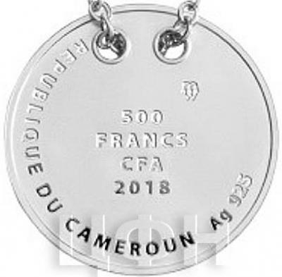 Камерун 500 франков 2018 год «Ангел» (аверс).jpg