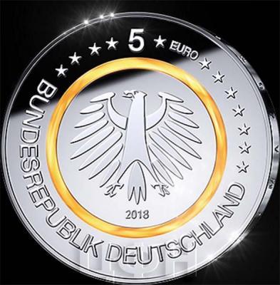 Германия 5 евро 2018 год (аверс).jpg