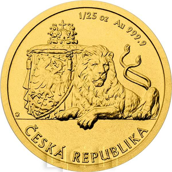 Чехия 2017 «Чешский лев» (реверс).jpg