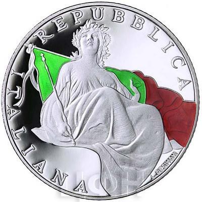 Италия 5 евро 2018 год Конституция (аверс).jpg