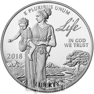 США 100 долларов 2018 год (реверс).jpg