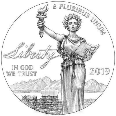 США 100 долларов 2019 год (реверс).jpg