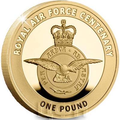 Гернси 1 фунт 2018 «100-летний юбилей RAF» (реверс).jpg