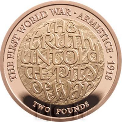 Великобритания 2 фунта 2018 год «100-летие окончания Первой мировой войны» (реверс).jpg