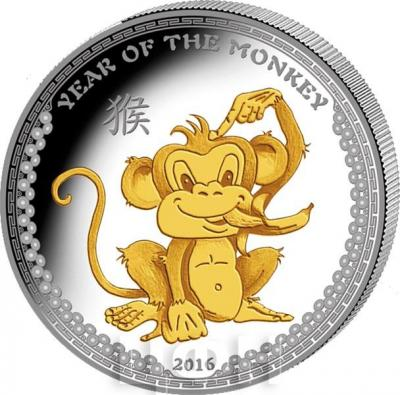 Палау 5 долларов 2016  «Год обезьяны» (реверс).jpg