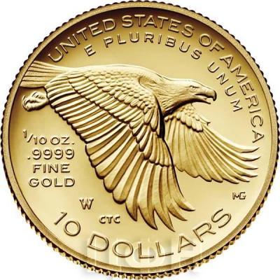 США 10 долларов 2018 Либерти (реверс).jpg
