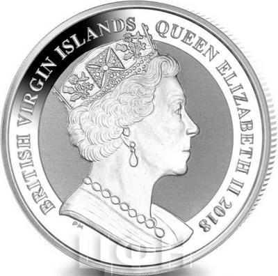 Британские Виргинские острова 1 Доллар 2018 (аверс).jpg