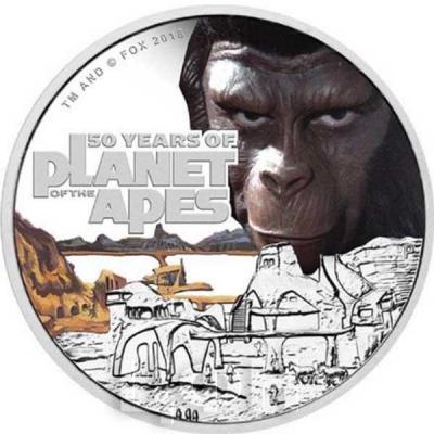 Тувалу 1 доллар 2018 Планета обезьян.jpg
