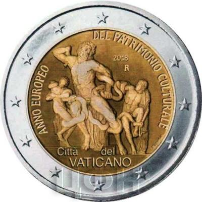 Ватикан 2 евро 2018 год (реверс).jpg