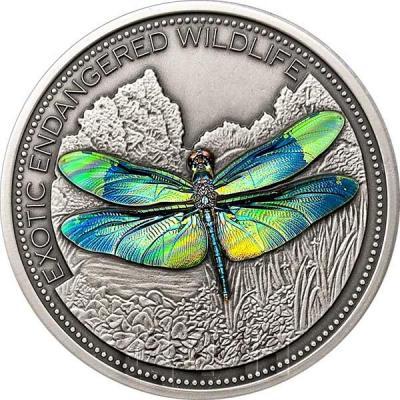 Фиджи 10 долларов 2018 «Экзотическая бабочка» (реверс).jpg