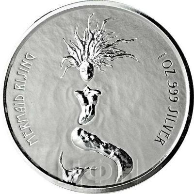 Фиджи 1 доллар 2018  «Русалка с острова Фиджи» (реверс).jpg