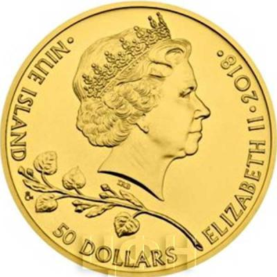 Ниуэ 50 долларов 2018 «Чешский лев» (аверс).jpg